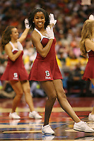 SAN ANTONIO, TX - APRIL 4: Stanford Dollies during Stanford's 73-66 win over Oklahoma in the Final Four semi-finals at the Alamo Dome on April 4, 2010 in San Antonio, Texas.