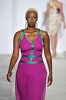 Bien Abyé by Dayanne Danier Fashion Show Model, Adoch Oryema Acemah, at Funkshion Fashion Week Miami Beach 2012 at The Moore Building on March 16, 2012