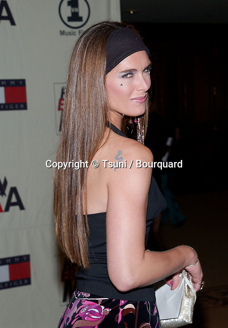 Brooke Shileds arriving at the 9th Annual Race To Erase MS Gala: 'Peace and Love' at the Century Plaza Hotel in Los Angeles, Ca. Friday, May 10, 2002.  May 10, 2002.            -            ShieldsBrooke03.jpg