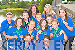 Rowers from Killorglin RC who won medals at the National Rowing Championships in Iniscarra, Cork over the weekend front row l-r: Aileen Crowley, Niamh McSweeney. Middle row: Caoimhe O'Sullivan, Aisling O'Shea, Aoife Ross, Me?abh O'Sullivan. Back row: Caoimhe Russell, Kelly Moriarty, Kerri Fay, Maeve McGillicuddy, Katie Fay, Veronica Kingston , Niamh McSweeney and Tara Lynch