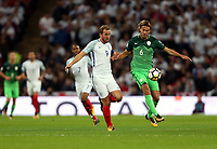 Harry Kane of England and Rene Krhin of Slovenia<br /> <br /> Photographer Rob Newell/CameraSport<br /> <br /> FIFA World Cup Qualifying - European Region - Group F - England v Slovenia - Thursday 5th October 2017 - Wembley Stadium - London<br /> <br /> World Copyright &copy; 2017 CameraSport. All rights reserved. 43 Linden Ave. Countesthorpe. Leicester. England. LE8 5PG - Tel: +44 (0) 116 277 4147 - admin@camerasport.com - www.camerasport.com