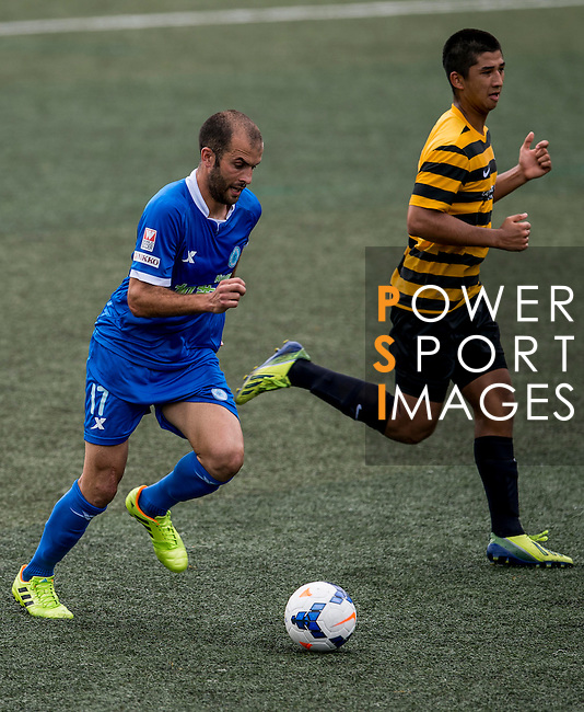 BC Rangers vs Singapore Cricket during the Day 2 of the HKFC Citibank Soccer Sevens 2014 on May 24, 2014 at the Hong Kong Football Club in Hong Kong, China. Photo by Victor Fraile / Power Sport Images