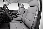 Front seat view of 2017 GMC Sierra-1500 Double-Cab 4 Door Pickup Front Seat  car photos