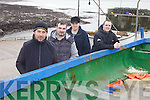 TAKING TO THE WATER: Members of the newly formed Ballyheigue rowing club which is recruiting new members, l-r: Tony Hussey, Tony Goggin, Tom O'Connor, Ristea?rd O Fuara?in.
