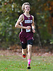 Trevor Marchhart of Garden City races to victory in the Nassau County Class II varsity boys cross country championship at Bethpage State Park on Saturday, Oct. 29, 2016.