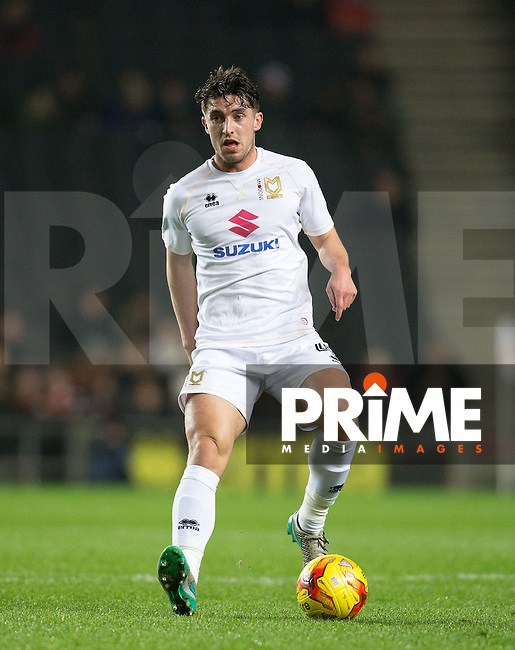 Joe Walsh of Milton Keynes Dons during the Sky Bet League 1 match between MK Dons and Chesterfield at stadium:mk, Milton Keynes, England on 22 November 2016. Photo by Andy Rowland.