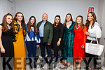Stepping out on the Cat Walk for for the Cillín Liath NS fundraiser in the Sea Lodge on Saturday night were l-r; Carina Geary-O'Sullivan, Isabel Curran, Lettie Arroyo, Fr Gerard Finucane, Elaine Joy(Principal), Amanda O'Sullivan, Lorna O'Shea & Rachel Smith.