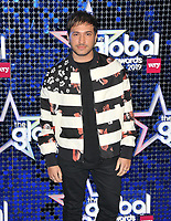 Jonas Blue (Guy James Robin) at the Global Awards 2019, Hammersmith Apollo (Eventim Apollo), Queen Caroline Street, London, England, UK, on Thursday 07th March 2019.<br /> CAP/CAN<br /> &copy;CAN/Capital Pictures