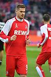 14.01.2018, RheinEnergieStadion, Koeln, GER, 1.FBL., 1. FC K&ouml;ln vs. Borussia M&ouml;nchengladbach<br /> <br /> im Bild / picture shows: <br /> neu im Kader Simon Terodde (FC K&ouml;ln #9),Querformat, <br /> <br /> <br /> Foto &copy; nordphoto / Meuter