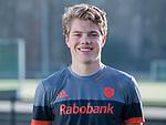 UTRECHT - Derck de Vilder , away shirt  speler Nederlands Hockey Team heren. COPYRIGHT KOEN SUYK