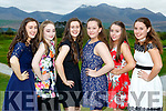Aoife Murphy, Zara O'Reilly, Orla Murphy, Grace HJoy and Louise Kissane and Caoimhe Foley at the Beaufort Youth club ball in Beaufort Golf club on Wednesday evening