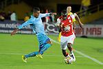 Independiente Santa Fe venció 3-0 a Jaguares, este sábado por la noche, en partido de la fecha 17 del Torneo Apertura Colombiano 2015 jugado en el Nemesio Camacho El Campín de la capital colombiana.