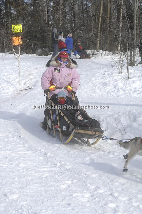 Paul Gebhardt Anchorage Start Iditarod 2008.