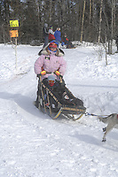 Paul Gebhardt Anchorage Start Iditarod 2008.