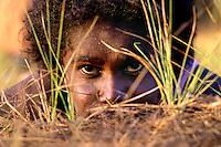Daisy Wolmby, Apalech Clan group, Aurukun, Cape York Peninsula.