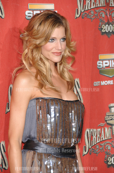 TRICIA HELFER at the Spike TV Scream Awards 2006 at the Pantages Theatre, Hollywood..October 7, 2006  Los Angeles, CA.Picture: Paul Smith / Featureflash