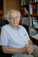 (Oslo July 27, 2011)  Professor Nils Christie, Criminology , Oslo University.<br /> A large vehicle bomb was detonated near the offices of Norwegian Prime Minister Jens Stoltenberg on 22 July 2011. Another terrorist attack took place shortly afterwards, where a man killed 68 people, mainly children and youths attending a political camp at Ut&oslash;ya island. ..Anders Behring Breivik was arrested on the island and has admitted to carrying out both attacks..(photo:Fredrik Naumann/Felix Features)