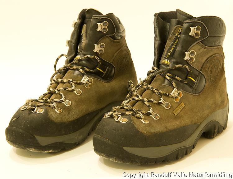 La Sportiva fjellstøvler. ---- La Sportiva hiking boots.