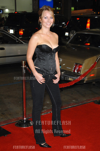 "MARKETA JANSKA at the Los Angeles premiere of ""Tenacious D in The Pick of Destiny""..November 9, 2006  Los Angeles, CA.Picture: Paul Smith / Featureflash"