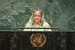 LOS general debate &ndash; 27 September<br /> <br /> PM<br /> <br /> Her Excellency Sheikh HASINA Prime Minister of the People's Republic of Bangladesh