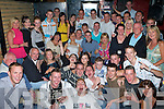 9752-9756.Double 21st - Mark Enright from Stack's Villas and Darren Young, Oakpark, seated centre having a ball with family and friends at their joint 21st birthday party held in The Greyhound Bar on Saturday night..   Copyright Kerry's Eye 2008