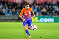 Jesús Navas of Manchester City during the EFL Cup Third Round Premier match between Swansea City and Manchester City at The Liberty Stadium. Wednesday 21 September 2016