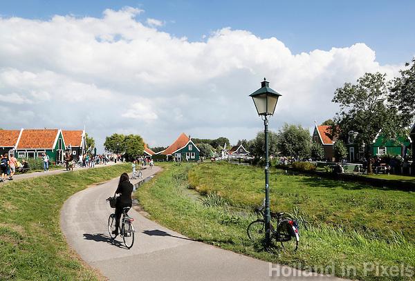 Nederland  Zaanse Schans  2016.   Foto Berlinda van Dam / Hollandse Hoogte
