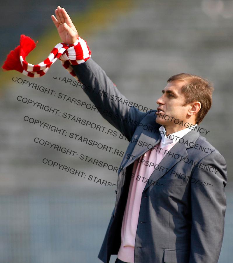 Fudbal, Super league, season 2006/07<br /> OFK Beograd Vs. Crvena ZVezda<br /> Bosko Djurovski, head coach<br /> Beograd, 17.03.2007.<br /> foto: Srdjan Stevanovic