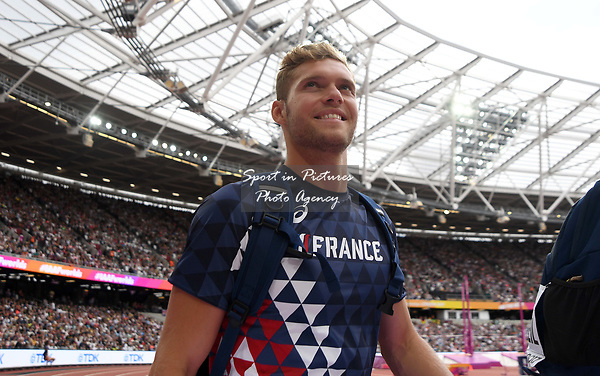 Kevin MAYER (FRA) in the mens decathlon. IAAF world athletics championships. London Olympic stadium. Queen Elizabeth Olympic park. Stratford. London. UK. 12/08/2017. ~ MANDATORY CREDIT Garry Bowden/SIPPA - NO UNAUTHORISED USE - +44 7837 394578