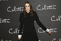 Keira Knightley at the 'Colette' Premiere at Cinema Gaumont Marignan in Paris, France on January 10, 2019. Credit: Action Press/MediaPunch ***FOR USA ONLY***
