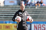 09 October 2016: Fort Lauderdale assistant coach Phillip Dos Santos (CAN). The Carolina RailHawks hosted the Fort Lauderdale Strikers at WakeMed Soccer Park in Cary, North Carolina in a 2016 North American Soccer League Fall Season match. Carolina won the game 3-0.