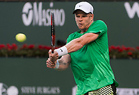 KYLE EDMUND (GBR)<br /> <br /> BNP PARIBAS OPEN, INDIAN WELLS, TENNIS GARDEN, INDIAN WELLS, CALIFORNIA, USA<br /> <br /> &copy; TENNIS PHOTO NETWORK