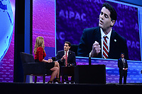 Washington, DC - March 24, 2019: Israeli Ambassador to the U.S. Ron Dermer speaks at the 2019 AIPAC Policy Conference held at the Washington Convention Center, March 24, 2019.  (Photo by Don Baxter/Media Images International)