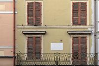 Cremona.La casa di Antonio Stradivari.