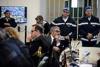 Roma, 19 Novembre 2015<br /> Aula bunker di Rebibbia<br /> Fabrizio Gallo, avvocato difensore di Roberto Iacopo<br /> Terza udienza del processo Mafia Capitale, Roma Capitale, avvocati,