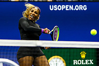 Serena Williams of the United States during her match against Elina Svitolina of Ukraine at Arthur Ashe Stadium at the USTA Billie Jean King National Tennis Center on September 05, 2019 in New York City.<br /> CAP/EL<br /> ©Elena Leoni/Capital Pictures