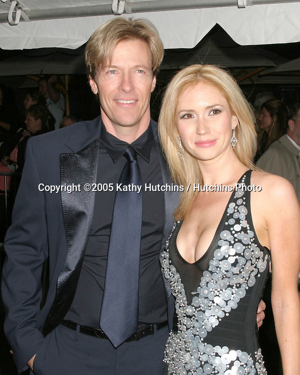 Jack Wagner.Ashley Jones.32nd Annual Daytime Emmys.Radio City Music Hall.New York City, NY.May 20, 2005.©2005 Kathy Hutchins / Hutchins Photo...