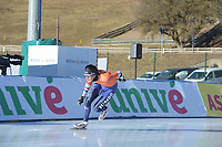 SPEED SKATING: COLLALBO: Arena Ritten, 11-01-2019, ISU European Speed Skating Championships, training, Patrick Roest (NED), ©photo Martin de Jong