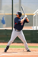 John Drennen, Cleveland Indians 2010 minor league spring training..Photo by:  Bill Mitchell/Four Seam Images.