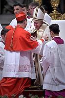 Cardinal, archbishop of Brasilia, Sergio Da Rocha Pope Francis, during a consistory at Peter's basilica. Pope Francis has named 17 new cardinals, on November 19, 2016