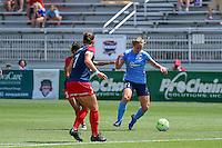 Boyds, MD - Sunday July 31, 2016: Leah Galton during a regular season National Women's Soccer League (NWSL) match between the Washington Spirit and Sky Blue FC at Maureen Hendricks Field, Maryland SoccerPlex.