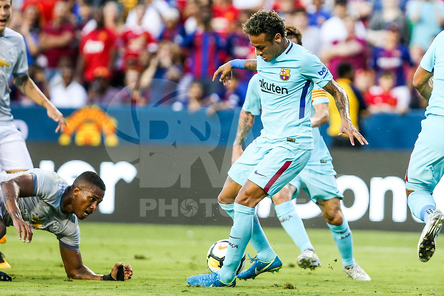 LANDOVER, EUA, 26.07.2017 - BARCELONA-MANCHESTER UNITED - Neymar Jr. do Barcelona durante partida contra o Manchester United jogo valido pela Internacional Champions Cup no FedExField, Landover nos Estados Unidos nesta quarta-feira, 26. (Foto: William Volcov/Brazil Photo Press)