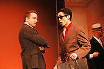 Eric Parker & Eric Tsuchiyama in Sunset Boulevard for several weeks in August at the Barn Theatre in Augusta, Michigan. The photos are from the dress rehearsal. (Photo by Sue Coflin/Max Photos)