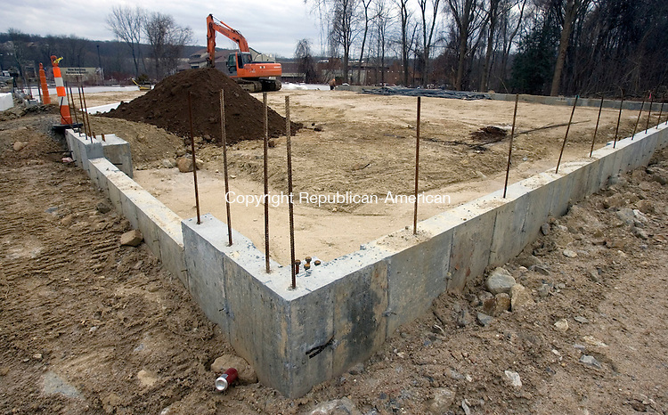 WATERBURY CT. 26 December 2013-122613SV06-A new development is going up at 3528 East Main St., near the CoCo Key Resort in Waterbury Thursday. Development has been slow since 2008, but it seems to be picking up. <br /> Steven Valenti Republican-American