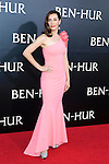 LOS ANGELES - AUG 16: Ayelet Zurer at the premiere of Ben-Hur at the TCL Chinese Theatre IMAX on August 16, 2016 in Los Angeles, California