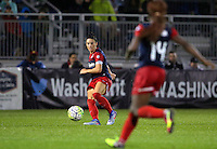 Boyds, MD - Friday Sept. 30, 2016: Ali Krieger during a National Women's Soccer League (NWSL) semi-finals match between the Washington Spirit and the Chicago Red Stars at Maureen Hendricks Field, Maryland SoccerPlex. The Washington Spirit won 2-1 in overtime.