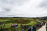 Spectators. McKayson NZ Women's Golf Open, Round Two, Windross Farm Golf Course, Manukau, Auckland, New Zealand, Friday 29 September 2017.  Photo: Simon Watts/www.bwmedia.co.nz