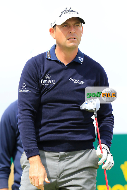 David HOWELL (ENG) on the 15th tee during the first round of the 144th Open Championship, St Andrews Old Course, St Andrews, Fife, Scotland. 16/07/2015.<br /> Picture Eoin Clarke, www.golffile.ie