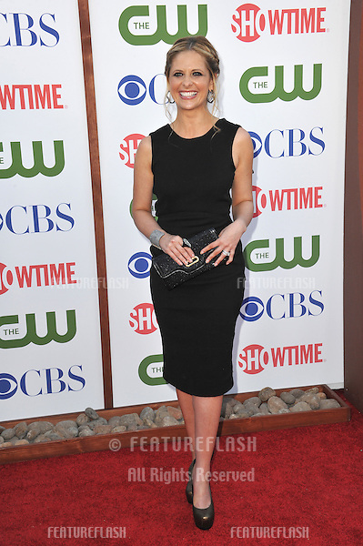 Sarah Michelle Gellar, star of Ringer, at the CBS Summer 2011 TCA Party at The Pagoda, Beverly Hills..August 3, 2011  Los Angeles, CA.Picture: Paul Smith / Featureflash
