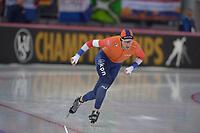SPEEDSKATING: HAMAR: Vikingskipet, 29-02-2020, ISU World Speed Skating Championships, Allround, 5000m Men, Jan Blokhuijsen (NED), ©photo Martin de Jong